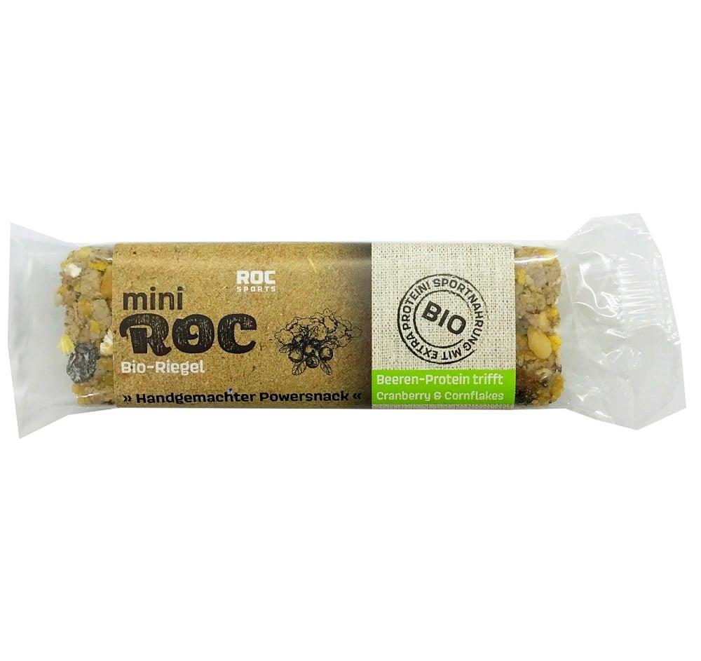 miniROC Bio Riegel – Schoko-Protein trifft Cranberry & Cornflakes