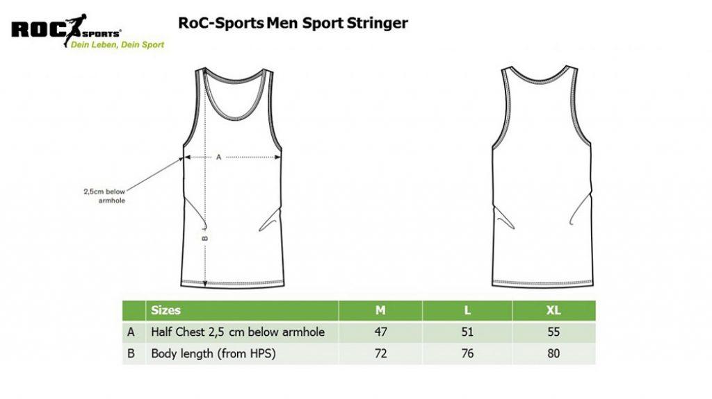 RoC-Sports | Shop | Bekleidung | Sport Stringer - Eat Big Lift Big Get Big