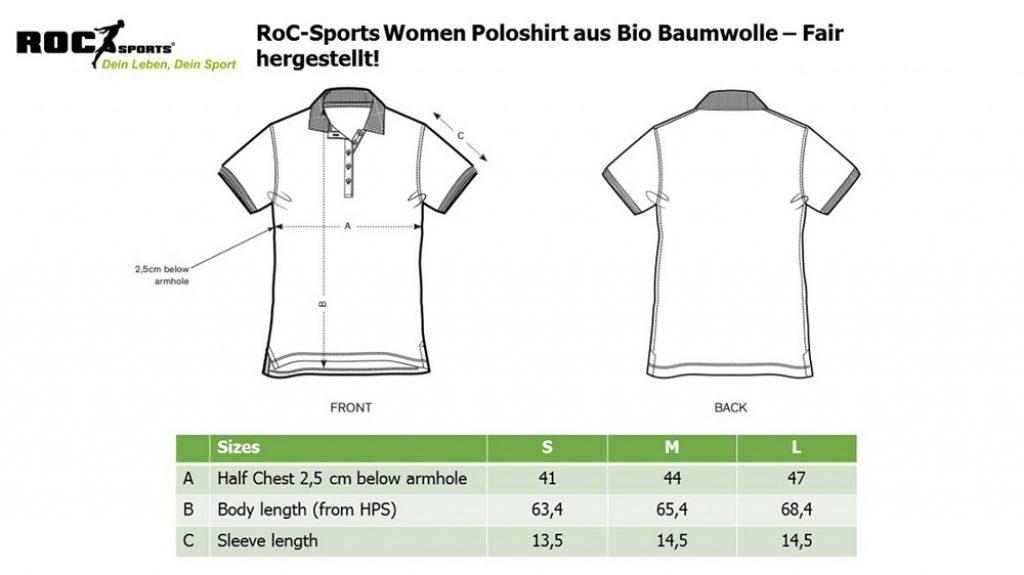 RoC-Sports   Shop   Bekleidung   Poloshirt für Frauen