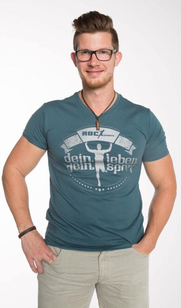 Bio Baumwoll Shirt – Dein Leben Dein Sport
