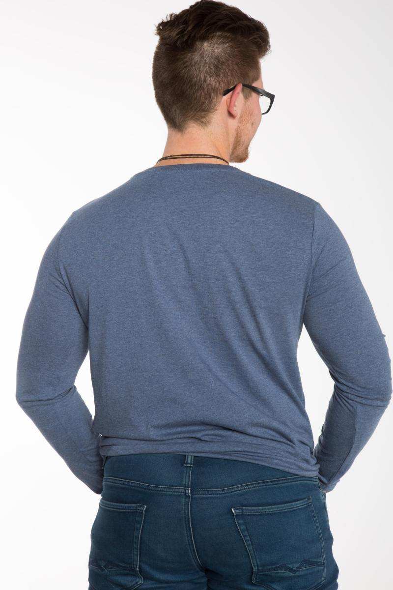 Bio Baumwoll Langarm Shirt