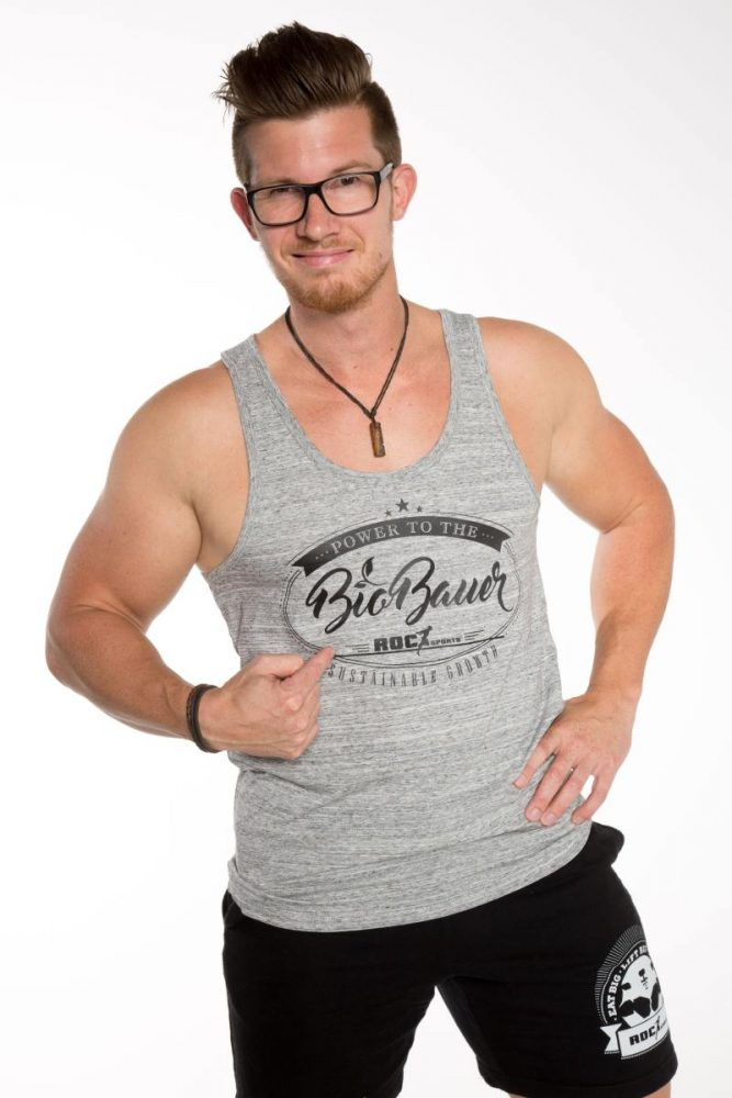 Bio Baumwoll Tanktop – Sustainable Growth