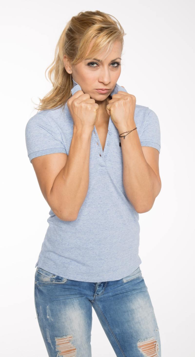 Bio Baumwoll Poloshirt für Frauen
