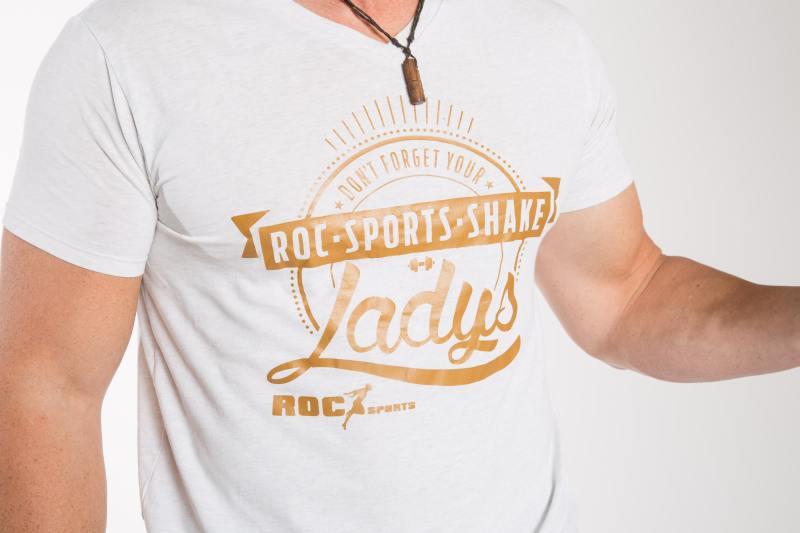 Bio Baumwoll Shirt – Don't forget your RoC-Sports Shake Ladies