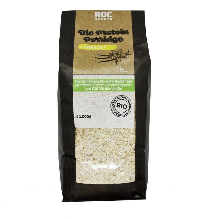 ROC-Sports   Shop   Bio Sportnahrung   Bio Protein Porridge   eiweissreiches Frühstück