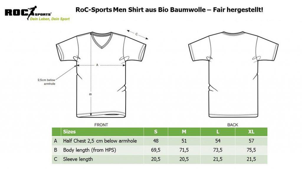 RoC-Sports | Shop | Bekleidung | Bio Baumwoll Shirt - Don't forgte your RoC-Sports Shake Ladies