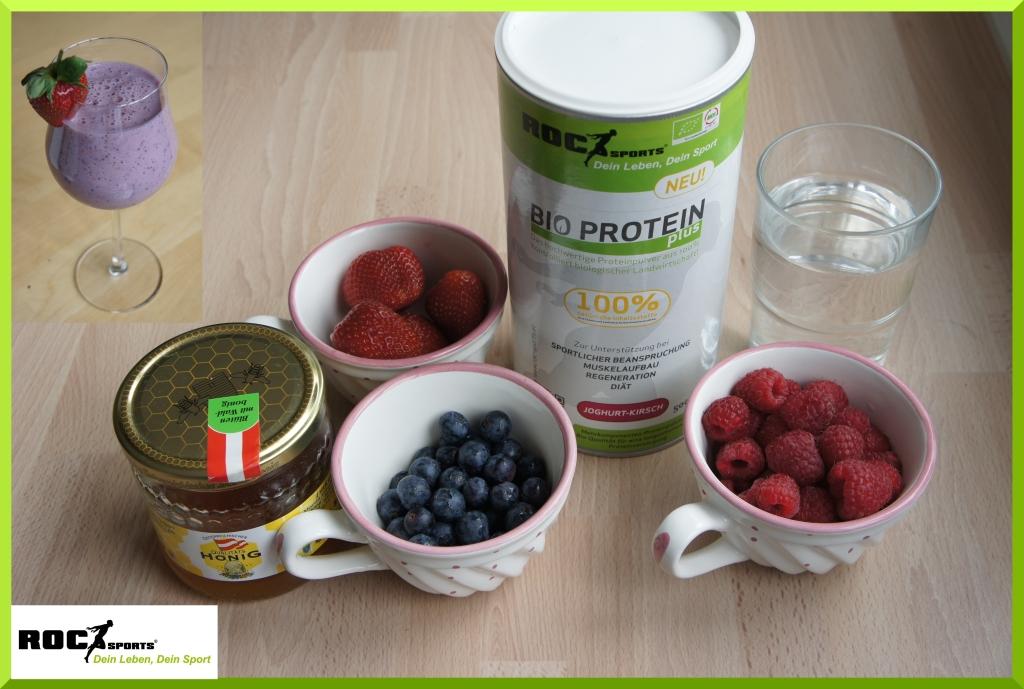 RoC-Sports Bio Proteinpulver Smoothie