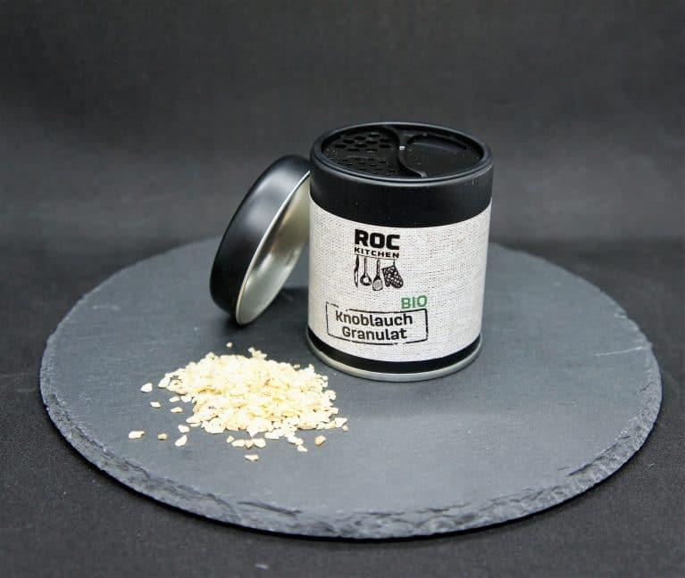 RoC-Sports   Shop   Bio Gewürze   ROC-Kitchen Bio Knoblauch Granulat
