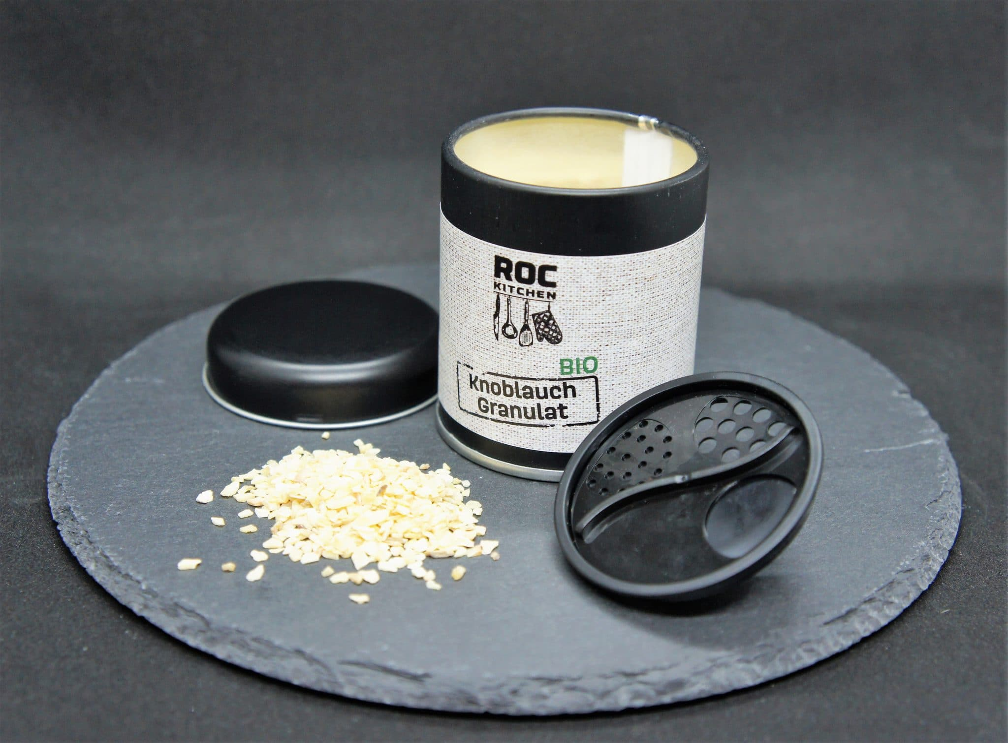 ROC-Kitchen Gewürz Bio Knoblauch-Granulat
