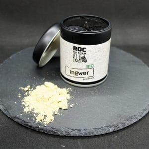 RoC-Sports   Shop   Bio Gewürze   ROC-Kitchen Bio Ingwer