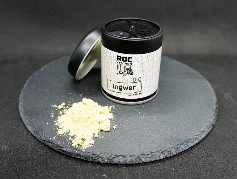 RoC-Sports | Shop | Bio Gewürze | ROC-Kitchen Bio Ingwer