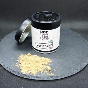 RoC-Sports | Shop | Bio Gewürze | ROC-Kitchen Bio Koriander