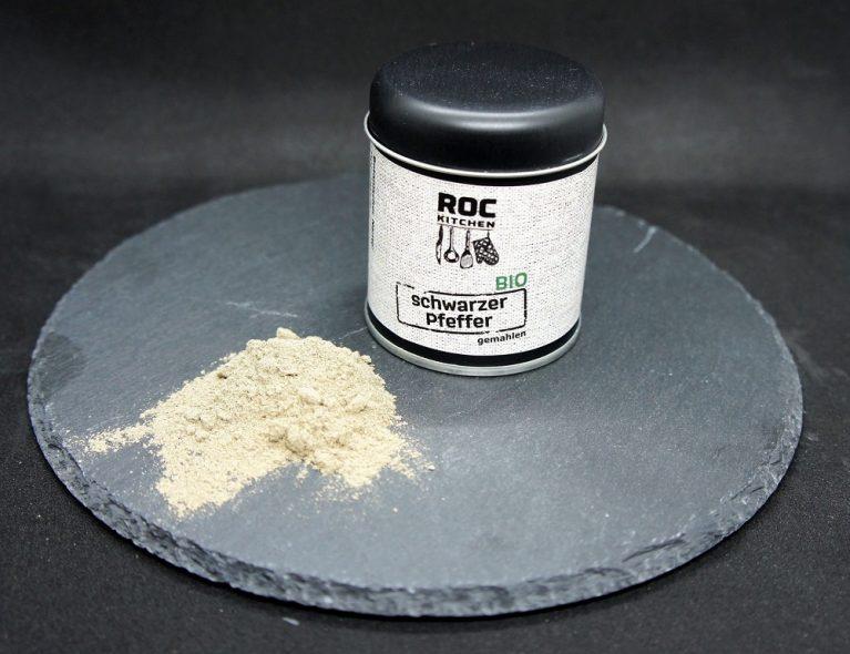RoC-Sports | Shop | Bio Gewürze | ROC-Kitchen Bio Schwarzer Pfeffer