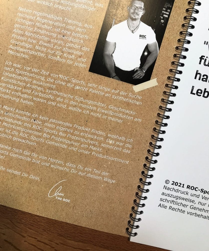 ROC-Sports & Kitchen Rezeptbuch