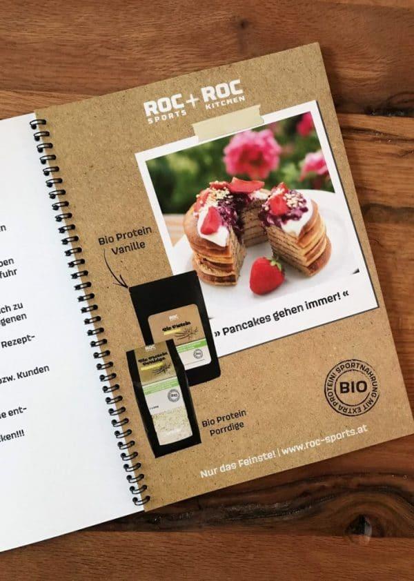 RoC-Sports | Shop | Feines Zubehör | NEU: Rezeptbuch in Printform