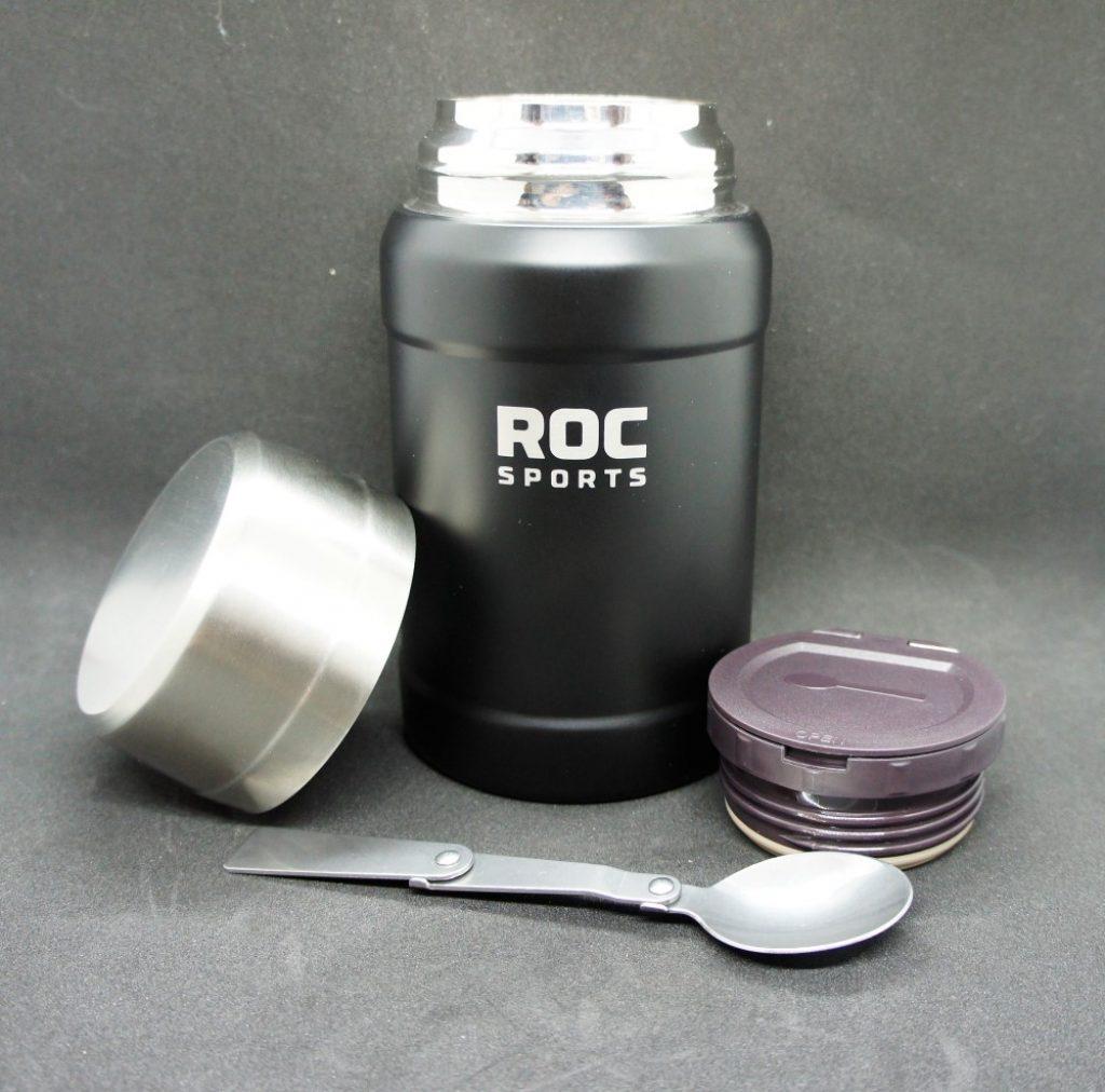 RoC-Sports | Shop | Feines Zubehör | Edelstahl Thermos Essensbehälter