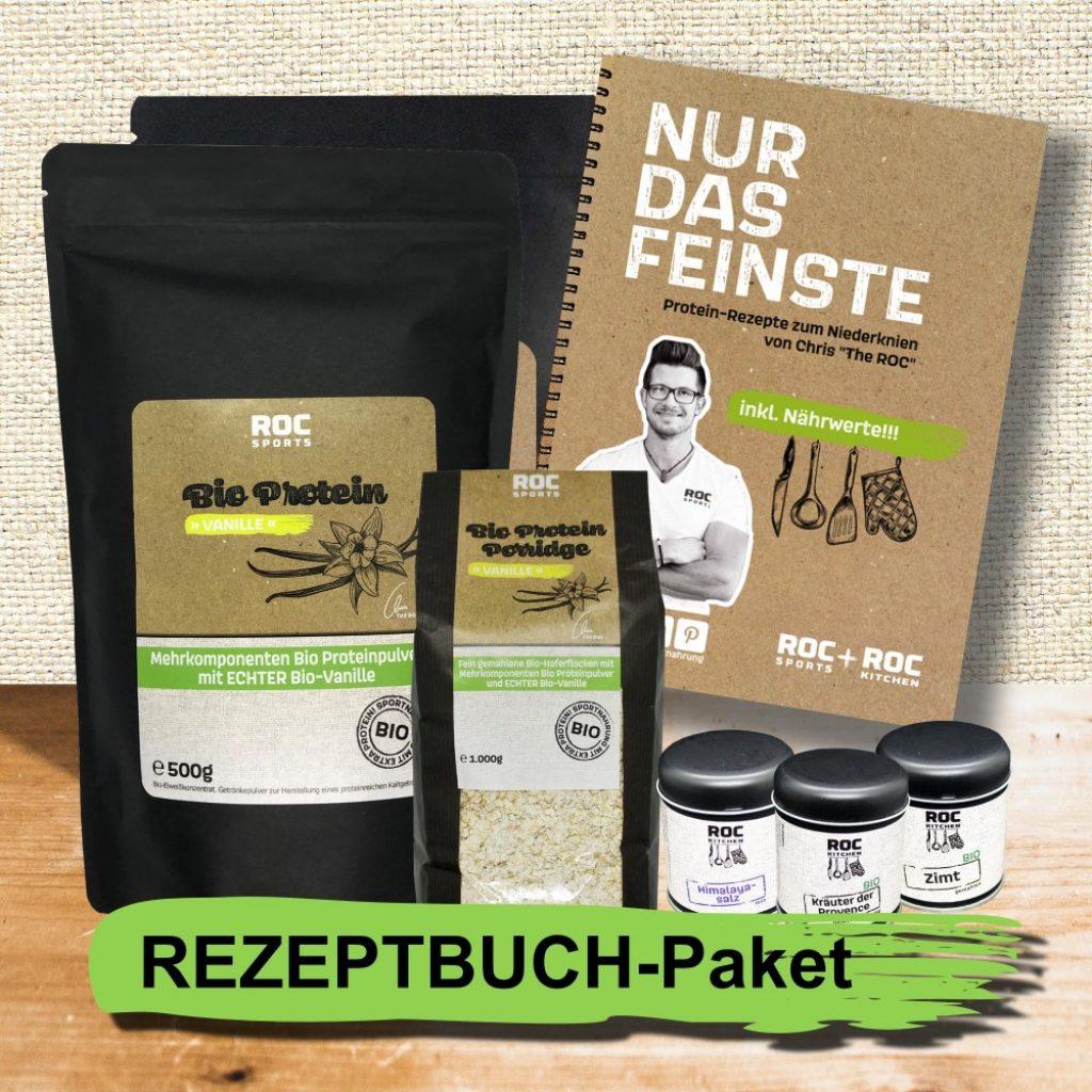 RoC-Sports   Shop   Bio Sportnahrung   Rezeptbuch-Paket