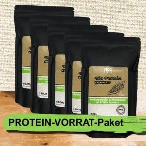 ROC-Sports | Shop | Bio Sportnahrung | Protein-Vorrat-Paket