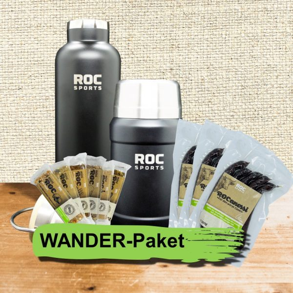 ROC-Sports   Shop   Bio Sportnahrung   Wander-Paket